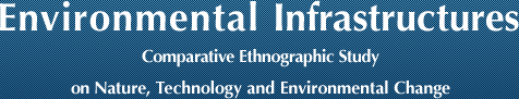 Environmental Infrastructures: Comparative Ethnographic Study on Nature, Technology and Environmental Change